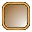 brauner Rahmen