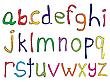 Hand-gemachtes Alphabet