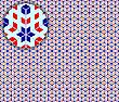 Pop-Art nahtlose detaillierte Textur
