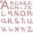 Grunge-Alphabet