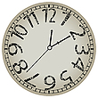 ID 3001543 | Zegar biały | Klipart wektorowy | KLIPARTO
