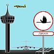 ID 3001647 | Koncepcja lotniska wojskowego | Klipart wektorowy | KLIPARTO