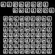Alphabet-Buttons