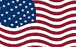 ID 3001723 | American flag flying | Klipart wektorowy | KLIPARTO
