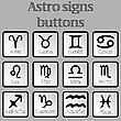 Astro-Zeichen als Tasten