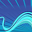ID 3002719 | Niebieskie fale wektorowe | Klipart wektorowy | KLIPARTO