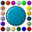 Kapsli w kolekcji kolorów | Stock Vector Graphics