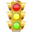 ID 3003227 | Krzyż świateł drogowych | Klipart wektorowy | KLIPARTO