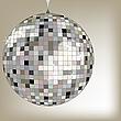 silbere Disco-Kugel