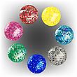 farbige Disco-Kugeln