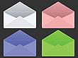 leere Briefumschläge