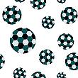 Fußball nahtloseы Muster