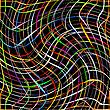 ID 3003697 | Świeże, kolorowe paski kręcić na czarnym tle | Klipart wektorowy | KLIPARTO