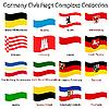 ID 3003793 | Landflaggen Deutschlands | Stock Vektorgrafik | CLIPARTO