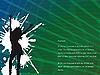 ID 3003951 | Abstrakter Hintergrund mit Frau-Silhouette | Stock Vektorgrafik | CLIPARTO