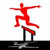 ID 3004204 | Skoki kobieta ilustracji | Klipart wektorowy | KLIPARTO