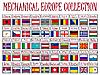 ID 3004398 | Kolekcja mechanicznych europe | Klipart wektorowy | KLIPARTO