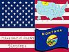 Montana  | Stock Vektrografik
