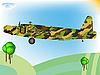 ID 3004564 | Altes Militärflugzeug | Stock Vektorgrafik | CLIPARTO