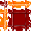 orange and red ceramic tiles