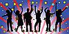 ID 3004651 | Menschen tanzen am Disko | Stock Vektorgrafik | CLIPARTO
