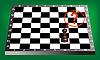 Bauer und Schachbrett