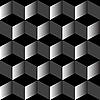 Черно-серые кубы | Векторный клипарт
