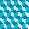 Blaue Kuben | Stock Vektrografik