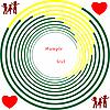Kreise, Kinder und Herz