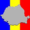 Karte von Rumänien