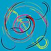 abstraktes Muster mit Kreise