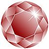 ID 3005100 | Ruby z białym twarz | Klipart wektorowy | KLIPARTO
