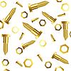 ID 3005134 | Śruby i nakrętki na białym tle | Klipart wektorowy | KLIPARTO