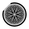 Schneeflocke-Aufkleber