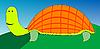 ID 3005676 | Zeichnung einer Schildkröte | Stock Vektorgrafik | CLIPARTO
