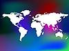 ID 3005702 | Unikalny abstrakcyjny i mapa świata | Klipart wektorowy | KLIPARTO