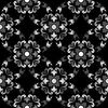 Schwarze nahtlose Textur | Stock Vektrografik