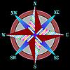 ID 3005896 | Rote Windrose | Stock Vektorgrafik | CLIPARTO