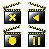 ID 3006278 | Film kino szczegółowe ikon | Klipart wektorowy | KLIPARTO