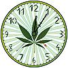 ID 3029169 | Uhr mit Hanf | Stock Vektorgrafik | CLIPARTO
