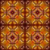ID 3029195 | Nahtloses geometrisches Blumen-Muster | Stock Vektorgrafik | CLIPARTO