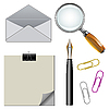 Vector clipart: office elements