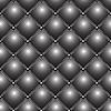zugeknöpftes metallisches Muster