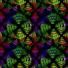 Nahtlose abstrakte Kreise | Stock Vektrografik