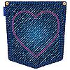 valentine Jeans-Tasche