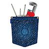 Jeans-Tasche mit Werkzeugen