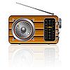 Holz Retro-Radio