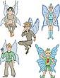 Elfos Niños | Ilustración vectorial