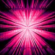 광선 폭발과 함께 추상적 인 배경 | Stock Vector Graphics