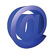 ID 3001929 | 3D E-Mail-Symbol | Stock Vektorgrafik | CLIPARTO